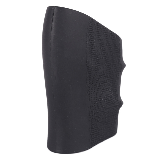 Latest 7.5 * 5 * 2cm Black Hunting Gun Accessories Tactical Pistol Rubber Cover Grip Gloves Tactics