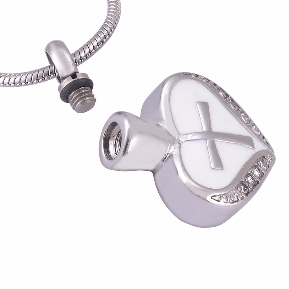 Stainless steel jewelry eternity love memorial cross cremation stainless steel jewelry eternity love memorial cross cremation pendant urn locket necklace not turn off color name engraved in pendant necklaces from biocorpaavc Images