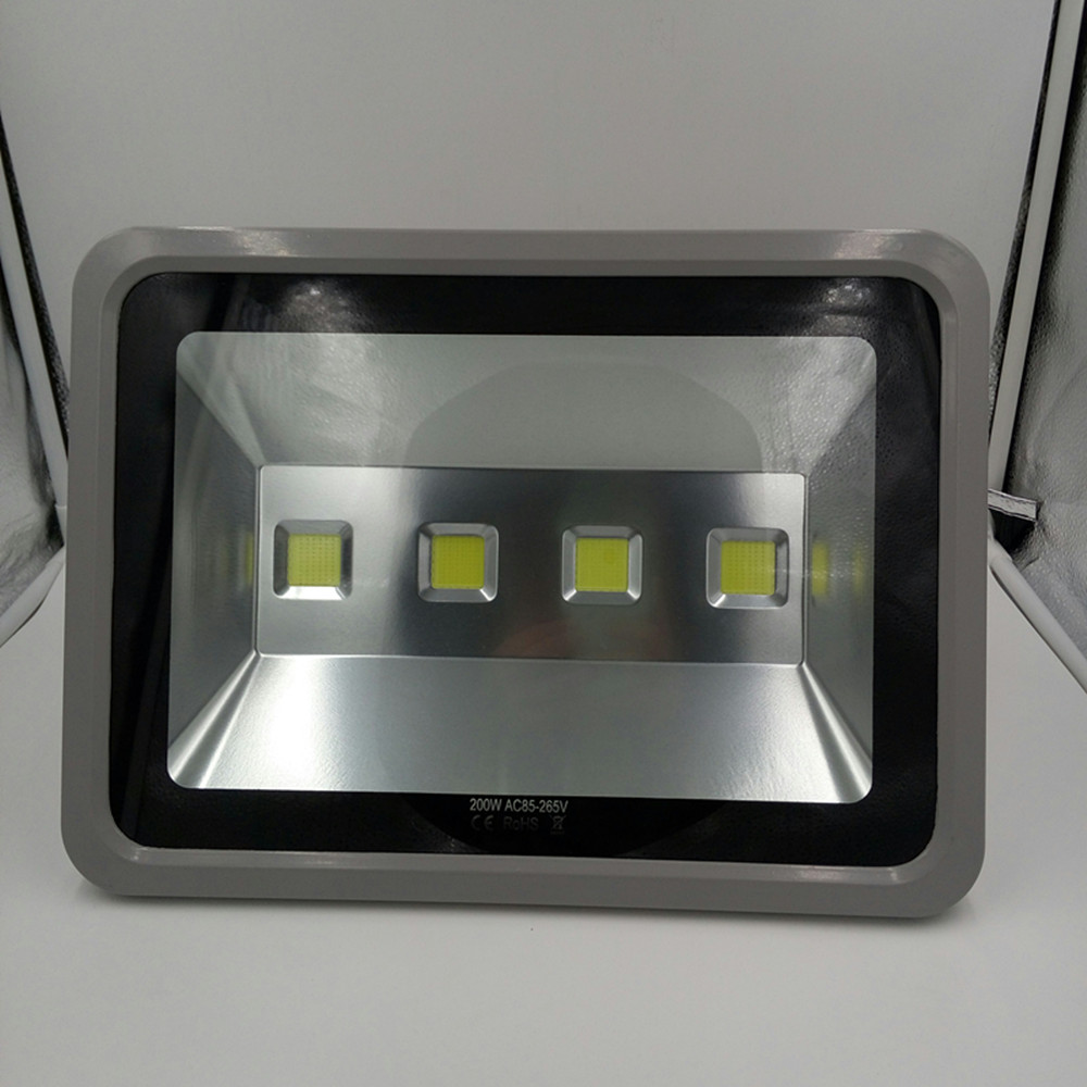 Ultrathin Led Flood Light 200w IP65 Outdoor Floodlight Lamp Reflector 200w 220v Led Spotlight Garden Light Exterior ultrathin led flood light 200w ac85 265v waterproof ip65 floodlight spotlight outdoor lighting free shipping