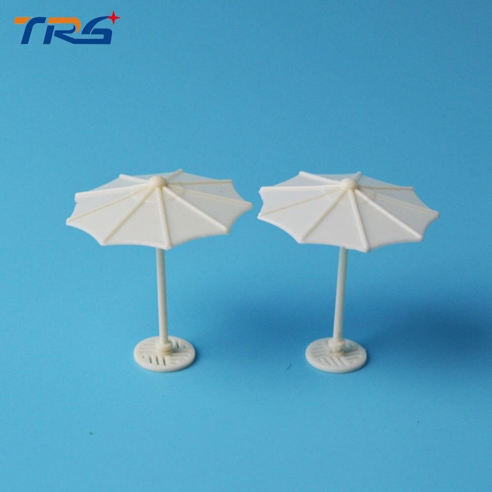 30pcs/lot scale model artificial kits didactical doll 1:150 umbrella