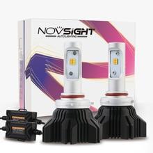 Auto Led Light Dual Color 9005/9006/9012/H4/H7/H11/H13 Car Driving Fog Lights 40w 8000lm Headlights 3000k 6500k Bulbs