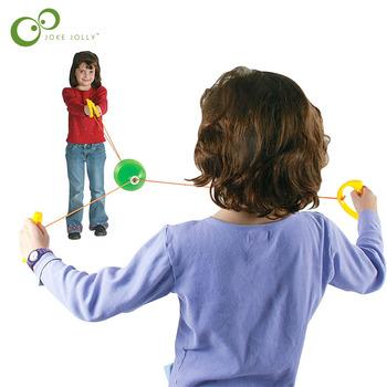 Najwyższej jakości zabawki dla dzieci jumbo prędkość piłki poprzez ciągnięcie piłki wewnątrz i gry na świeżym powietrzu zabawki prezent gorąca sprzedaży GYH tanie i dobre opinie JOKEJOLLY Z tworzywa sztucznego