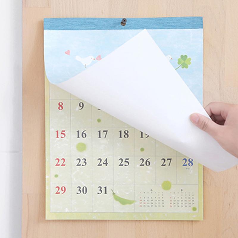 Office & School Supplies Kicute 2018 Jahr Schwarz Weiß Stil Luminous Kalender Schreibtisch Stehenden Papier Multifunktions Organizer Schedule Planer Memo Kalender