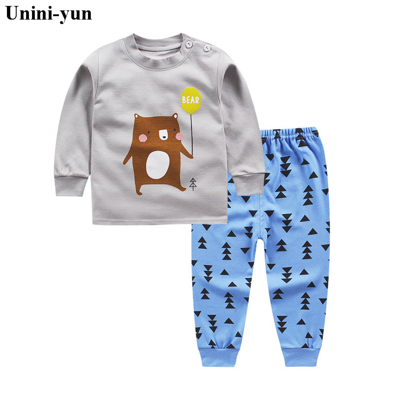 Autumn Children Boys Girls Fashion Clothing Suits Baby T-shirt Pants 2Pcs Sets Brand Kids balloon Clothes Toddler Tracksuit