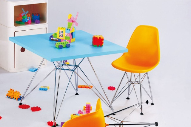 Famosa design sedia e tavolo Bambini tavolo Da Pranzo sedia set 1 pz ...