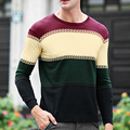 2017 Autumn Winter High Quality Casual Sweater Men Pullovers Brand Knitting Long Sleeve Slim Fit Knitwear Sweaters