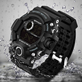 Men Sports Watches S-SHOCK Military Watch Fashion Wristwatches Dive Men's Sport LED Digital Watches Waterproof Relogio Masculino