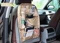 Malha Saco de Armazenamento De carro à prova d' água cadeira Multifuncional de volta saco de assento de Carro de volta organizador carvão De Bambu cadeira de Volta saco saco de Detritos