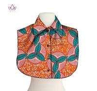 הדפס אפריקאי BRW צווארון לנשים ביגוד ואביזרים אפריקאית אנקרה בד הדפסת צווארון לולאות שרשראות עבור סוודר WYX22