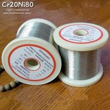1 шт/20 метров YT2172 нихромовая проволока диаметром 0,1 мм-0,45 мм Cr20Ni80 сопротивление нагревательного провода сплава нагревательной пряжи Mentos