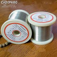 1 PCS/20 metri YT2172 Nichelcromo filo di Diametro 0.1 MILLIMETRI-0.45 MM Cr20Ni80 Resistenza del filo di Riscaldamento filo di Lega riscaldamento filato Mentos