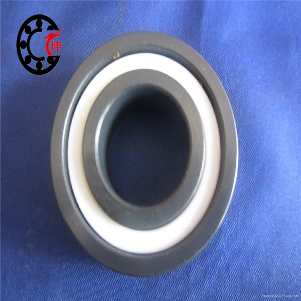 Free shipping 6806 full SI3N4 P5 ABEC5 ceramic deep groove ball bearing 30x42x7mm 61806 full complement