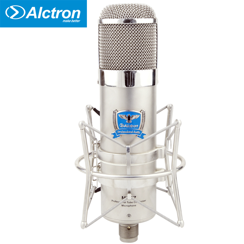 Alctron MK47 Professional Large Diaphragm Tube Condenser Studio Microphone, Pro Tube Recording Condenser Mic Used In Stage