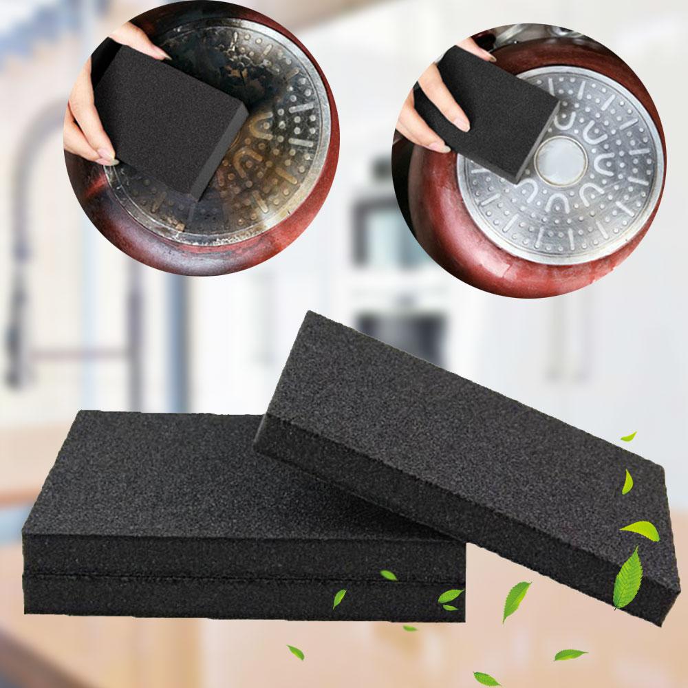 1pcs/lot New Melamine Sponge Kitchen Nano Emery Magic Sponge Cleaner Rub Pot Except Rust Cleaning Sponge For Kitchen Bathroom
