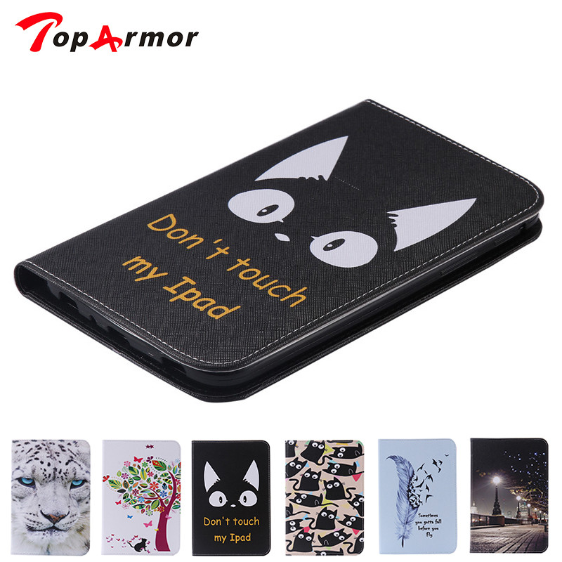 TopArmor Cat case for samsung galaxy tab 3 7.0 SM-T210 T210 T211 P3200 tablet cover folio fundas for samsung galaxy P3200 аксессуар чехол samsung galaxy tab a 7 sm t285 sm t280 it baggage мультистенд black itssgta74 1