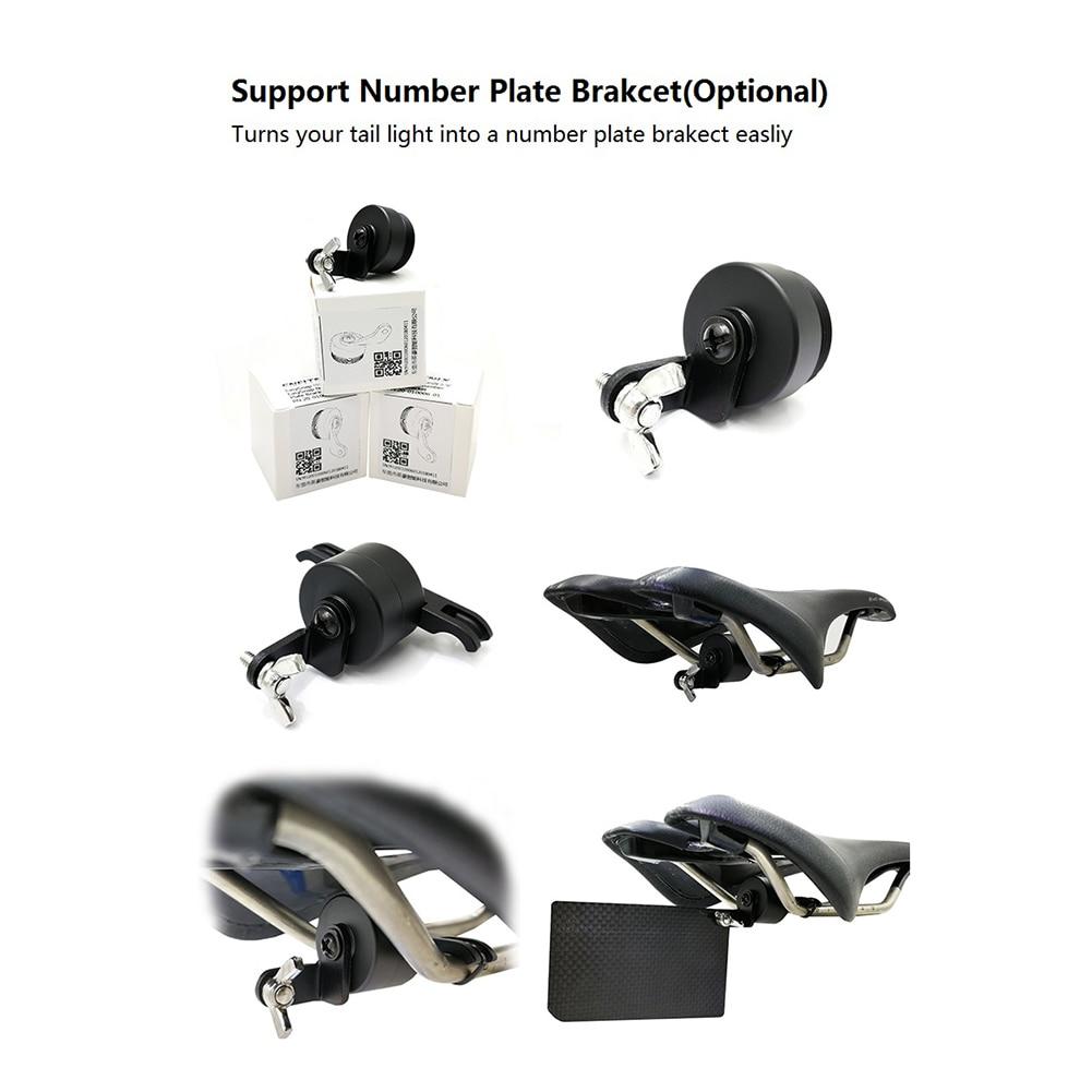 1pc XLITE100 Bike Rear Lamp Bracket Rubber Light Holder,Plate Bracket/_guJKUK