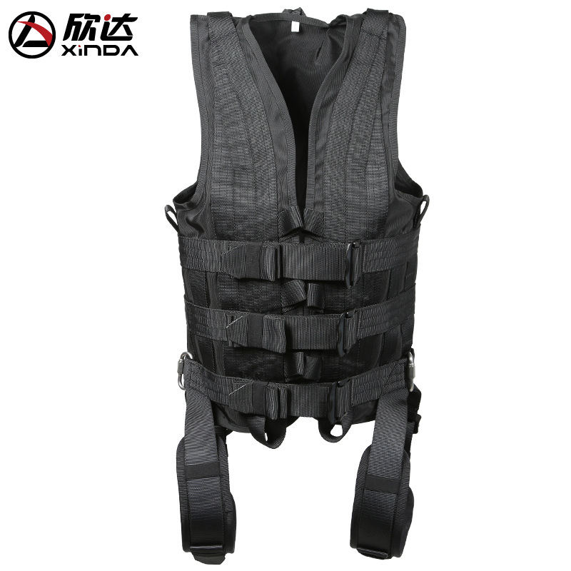 XINDA New outdoor professional film acrobatics clothing battle shooting linked to protect the body shooting sports team photos