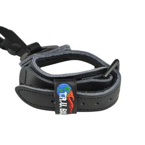 Image 4 - Tiro com arco composto libera cnc liga de alumínio + couro pulseira de acampamento praticando tiro caça arco e flecha acessórios