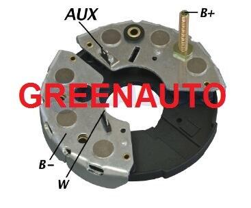 90A rectificador 9122080923 de 9120080215, 9120080222 para RENAULT CLIO alternador 9120080215 de 9120080222 de 9120080231 F010LD0001
