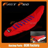 Motorcross Gripper Soft Seat Cover For CRF250R 10 13 CRF450R 09 12 Dirt Bike MX Supermotor