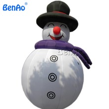 X033 Factory sale 4m giant inflatable Christmas snowman for Christmas festival