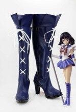 Сейлор Мун платье Лолита Маки Nishikino карнавальный костюм партия Лолита школьницы спортивные туфли Сапоги обувь на заказ