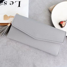 2019 New Fashion Design Leather Wallets Women Luxury Brand Purses Woman Wallet Long Hasp Female Purse Card Holder Clutch Feminin