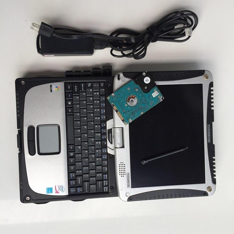 Heavy duty truck scanner für volvo vcads pro software mit laptop cf-19 touchscreen bereit zu verwenden 2 jahre garantie