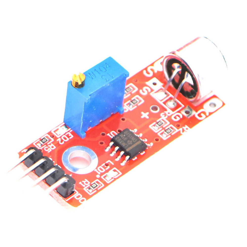 Wholesale KY 037 50pcs High Sensitivity Sound Microphone Sensor Detection Module For AVR PIC-in Replacement Parts & Accessories from Consumer Electronics    1