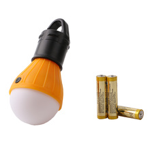 Soft Light Outdoor Hanging LED Camping Tent Light Bulb Night Fishing Lantern Lamp Lamparas Super Bright 3LED Light With Battery