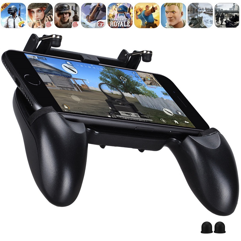 All-in-One L1R1 Shooter Joystick Game PUBG Mobile Game L1 R1 Trigger Button PUBG Gamepad Phone Game For iPhone Android