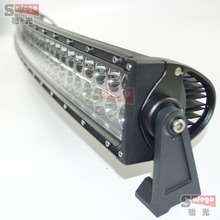 42 inch 240W curved off road led bar led light bar offroad 4X4 led tractor work fog lights driving for trucks Combo ATV Tractor