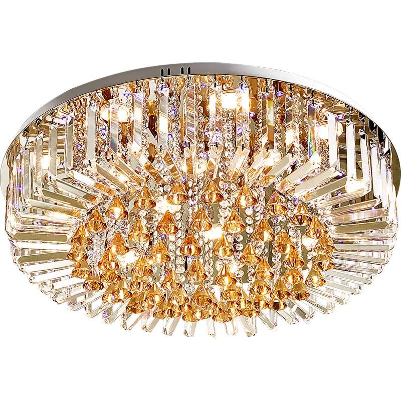 HA CONDOTTO LA Luce di Soffitto K9 di Cristallo Moderna Lampada A Soffitto Per La Casa Apparecchio di Illuminazione Dell'interno Caldo/Neutro/Freddo Bianco 3 Colori dimmerabile - 3