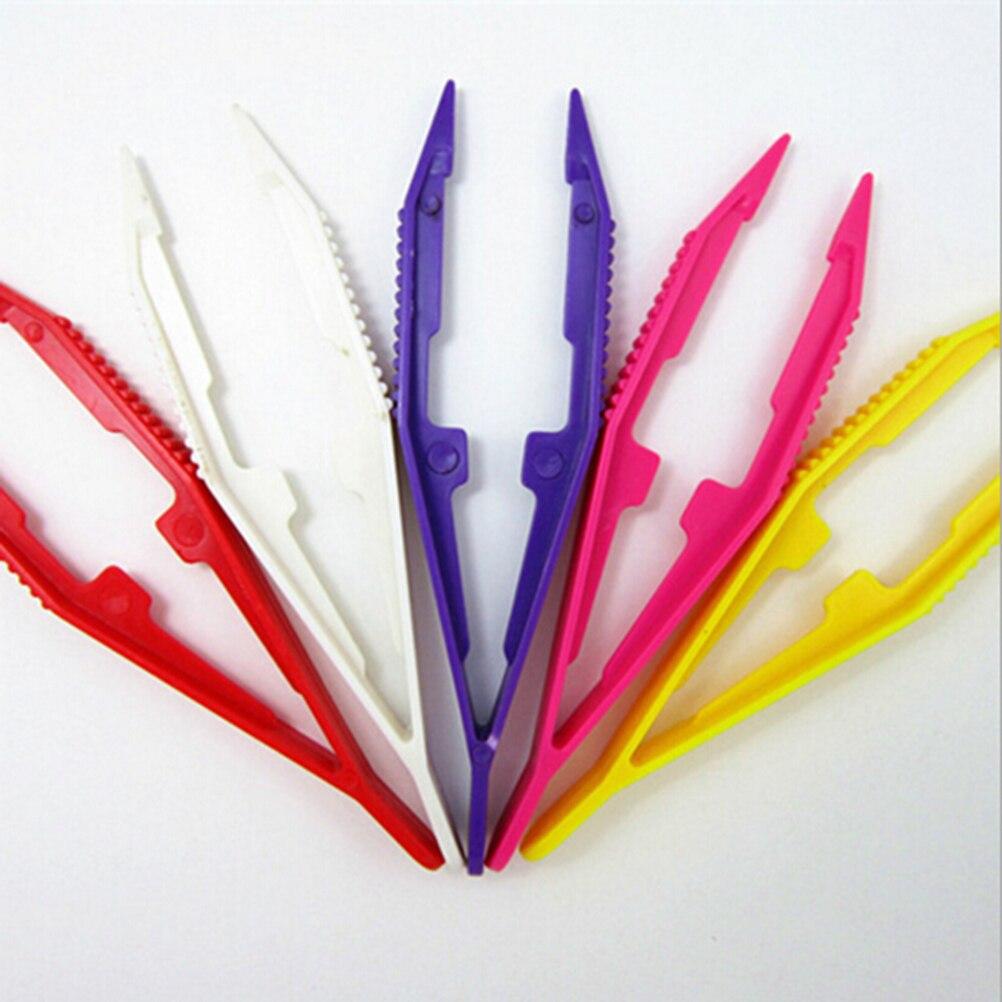 1Pcs Durable Tweezers Funny Children Kids Tools Tweezers Kids' Craft For Perler Bead Kids Tools Wholesale