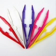 1Pcs Durable Tweezers Funny Children Kids Tools Craft for Perler Bead Wholesale