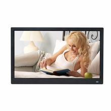 Electronic photo frame advertising machine wall mounted digital video picture player IPS HD 1920*1080 15.6 inches