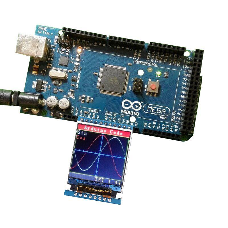 5V/3.3V 1.44 TFT 1.44 inch LCD Display Module 128*128 Color Sreen SPI Compatible For Arduino mega2560/STM32 /SCM 51