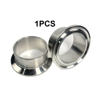Sanitary Pipe Weld Ferrule Tri Clamp Type Stainless Steel Flange SUS 304 1