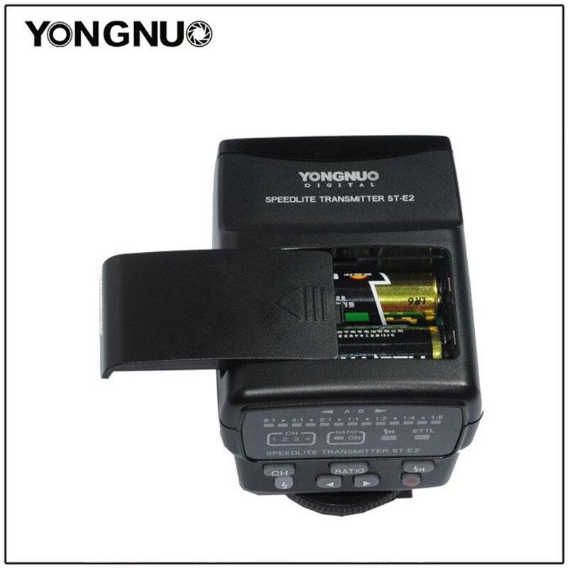 YONGNUO Wireless Speedlite Transmitter ST-E2 for Canon Camera 1000D 550D 500D 450D 400D 350D 50D 40D yn e3 rt ttl radio trigger speedlite transmitter as st e3 rt for canon 600ex rt new arrival