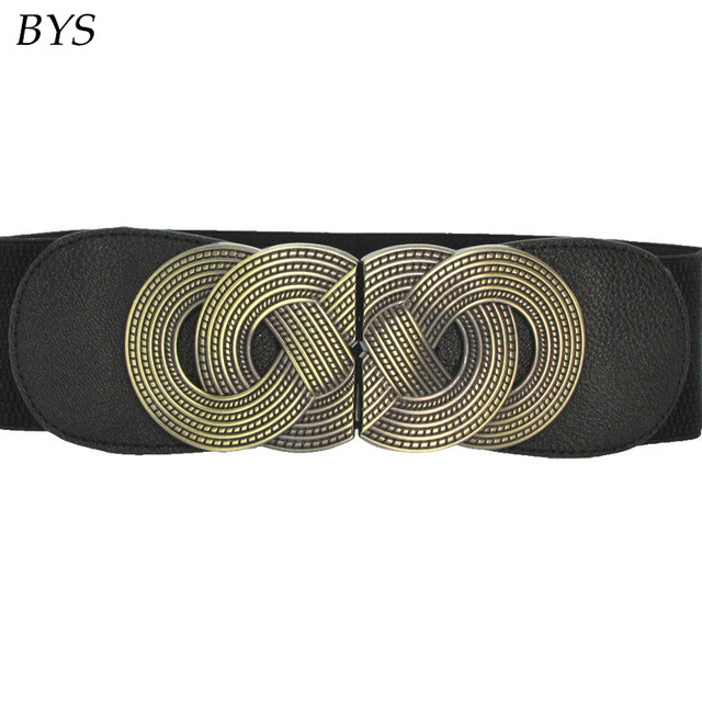 2016 Diseñador Famoso Cuero de LA PU Cinturones de Marca de Lujo de Las Mujeres Elegantes Cinturones Obi Original Vestido Ocasional Aolly Suave Banda de La Cintura