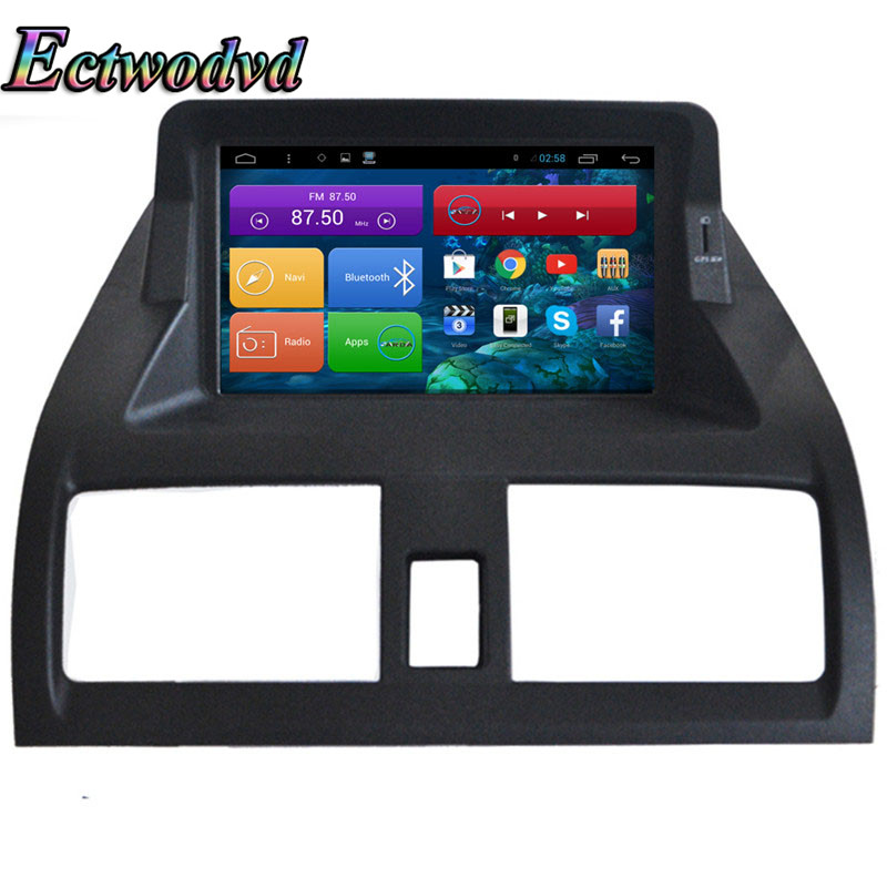 Ectwodvd 7 pouces Octa base Android 7.1/Quad Core Android 6.0 Voiture DVD GPS pour Honda Accord 7 2003 2004 2005 2006 2007