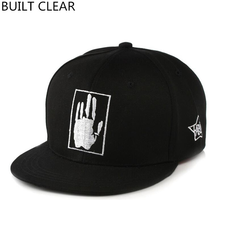 (BUILT CLEAR) new casual brand skateboard hip hop hat men and women high quality adjustable street hat sports baseball cap roxy tess