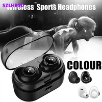 Twins Bluetooth Earphone With Charging Box Wireless Headphone With Mic For Xiaomi Mi 9 Lite 8 SE 8 Pro 6 6x 5x A1 A2 Lite mix 2s