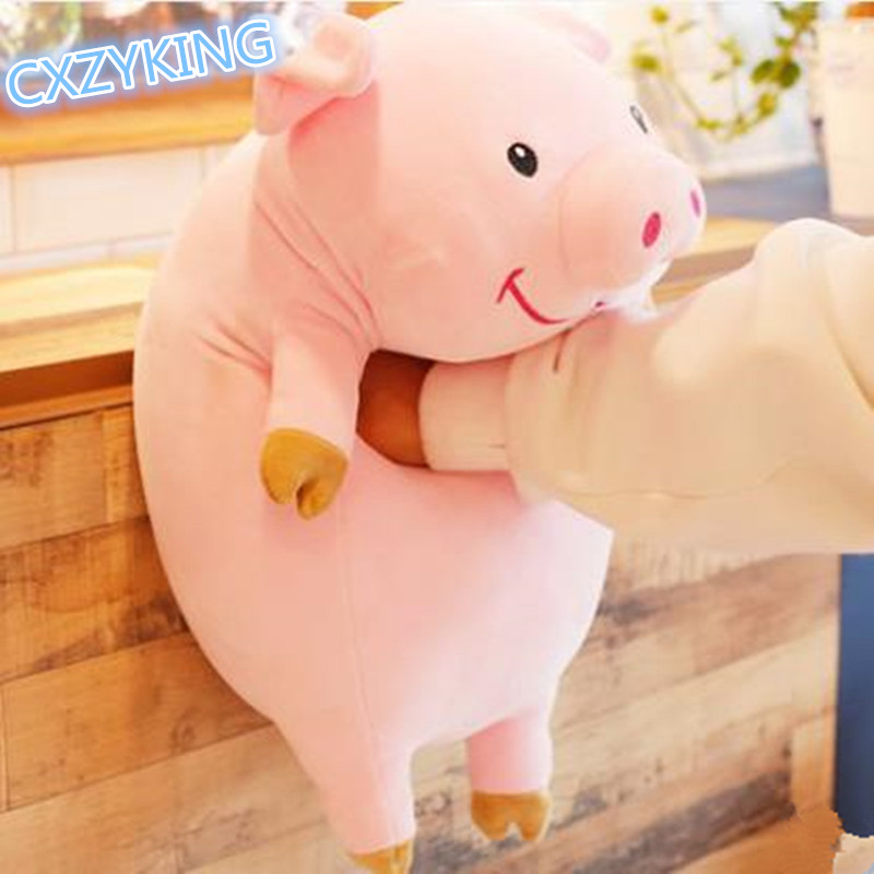 CXZYKING Soft Toy For Children Plush Toys Gravity Falls Pink Pig Plush and Stuffed Animal Pig Doll Toys 30/50CM 60cm cute soft stuffed plush toy animal farm cartoon pink pig doll brinquedos menina toys for children oyuncak bebek 50g0222