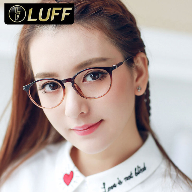 8bb404477931 Fashion retro eyeglass frames for women TR90 glasses frame super light  clear eyewear frames womens beautiful