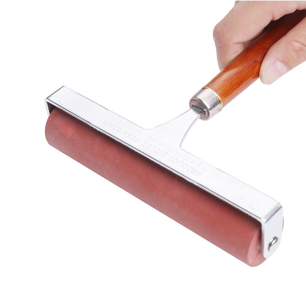 MEEDEN Hard Rubber Brayer Roller 6-Inch for Printmaking Craft School Projects for Oil Painting and Art Drawing Supplies art projects
