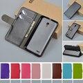 Флип PU Кожаный Бумажник чехол Для Alcatel One Touch Pop 2 7043A 7043Y 7043 К/Pop 2 Премиум 7044 7044A 7044X 7044Y 5.0 дюймов крышка