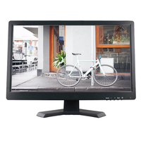 Resistive touch screen 19 inch wide lcd touch monitor 1440*900 high resolution touch monitor screen with AV/BNC/VGA/HDMI/USB