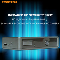 MINI camera 24 hours recording with wide angle 160 deg HD camera support PIR trigger Motion Detection and Night vision