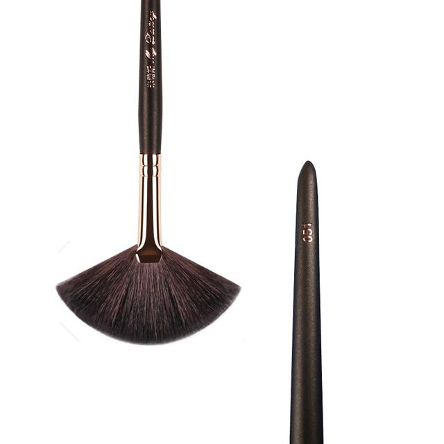 MY DESTINY Goat Hair Fan Brush for Powder Make Up Makeup Brushes Pincel Maquiagem Brochas Maquillaje Pinceaux Maquillage 051 3